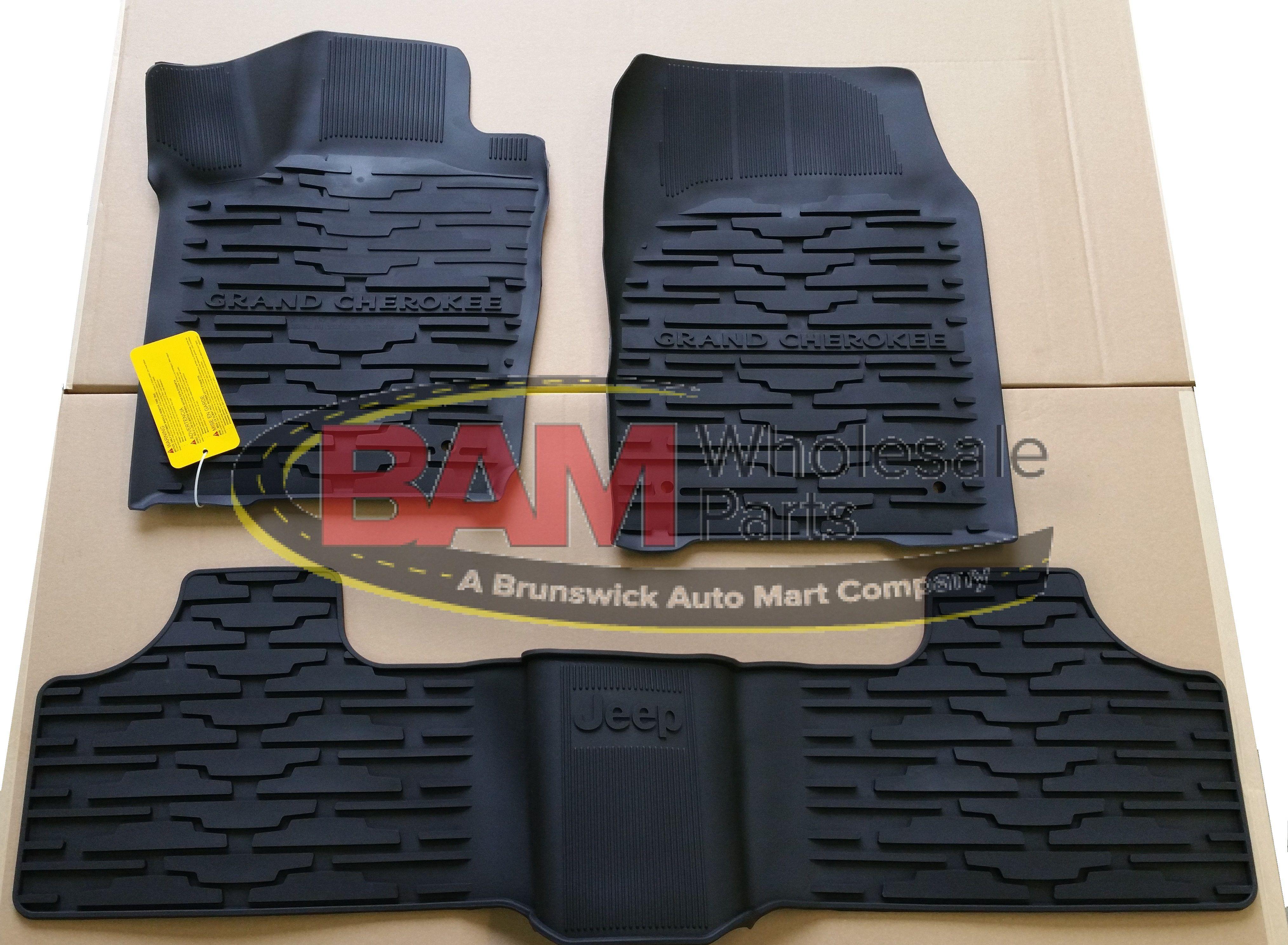 Weathertech floor mats jeep grand cherokee 2013 - 2013 2015 Jeep Grand Cherokee Slush All Weather Floor Mat Oem 82213686 Mopar