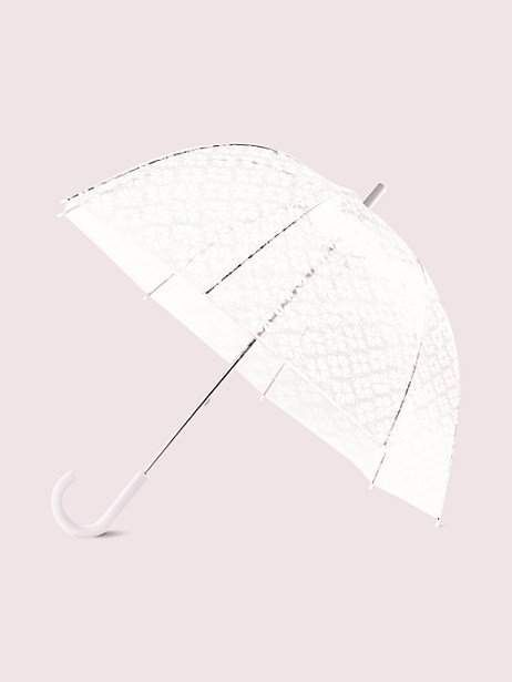 Spade flower clear umbrella #clearumbrella