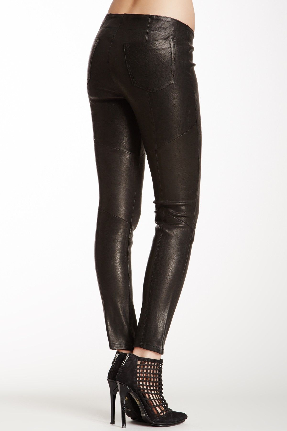 Giselle Leather Skinny Pant