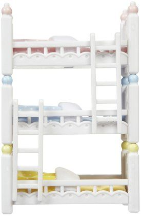 Calico Critters Triple Baby Bunk Beds Free Shipping Avec Images