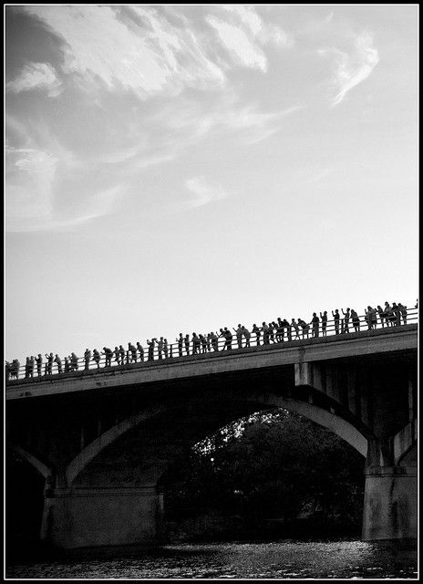 Waiting for the Austin Bats by jayteacat, via Flickr