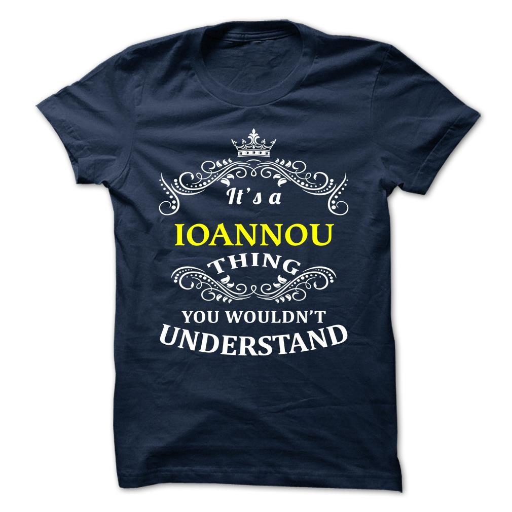 [Hot tshirt name font] IOANNOU Shirt design 2016 Hoodies, Tee Shirts
