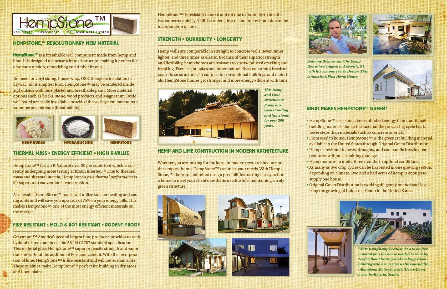 Building With Hemp Is Eco Friendly And A Step In The Right Direction Read More Ume