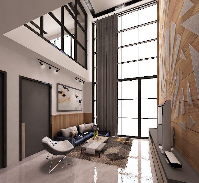cyan condo interior projects interiordesign livingroom apartment loft condo interiorloft design