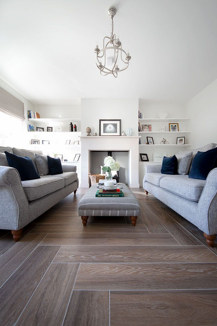 Old English Drawing Room: Project Inspiration: Clovelly Old English Wood Effect