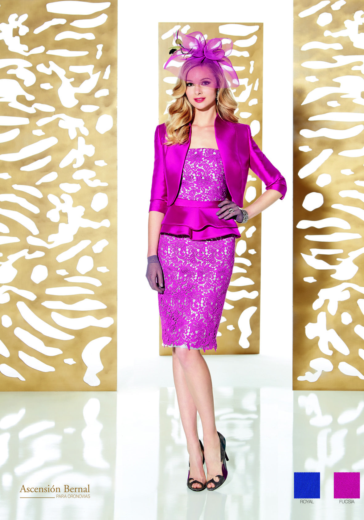 591e8dfff9 A fierce outfit for a mother of the bride groom or wedding guest who is  looking to turn heads! With such a gorgeous colour and complimentary shape