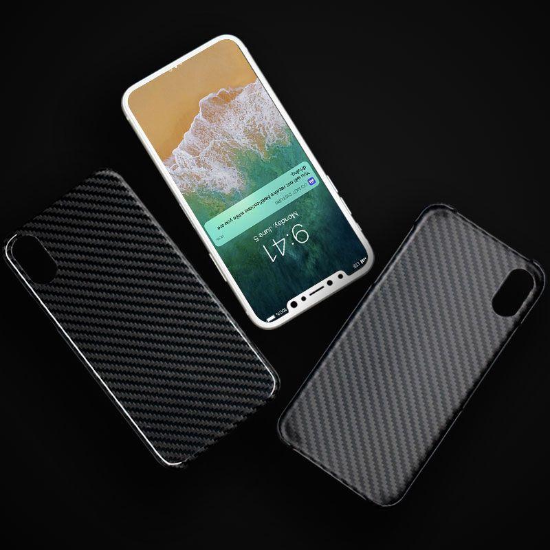 LCK Car accessories: Carbon Fiber Apple Iphone X Case | Carbon Fiber ...