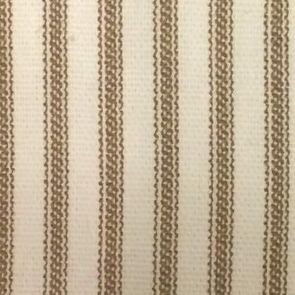 Ticking Stripe Duvet Cover Brown Bathroom Shower Panels Clawfoot Tub Custom Curtains