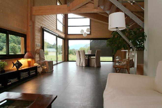 Maison bois interieur