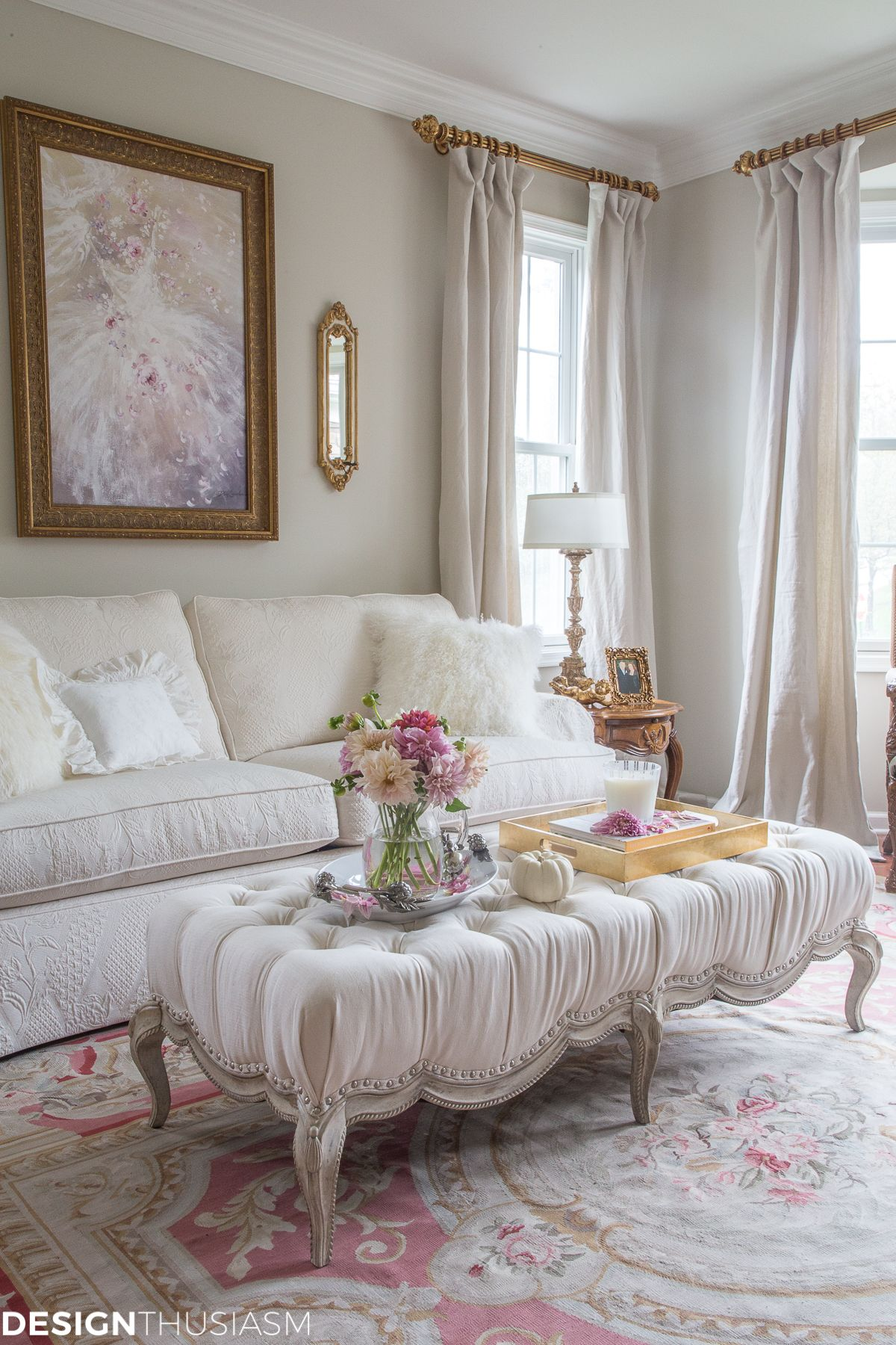 5 Affordable Room Makeovers How to Modernize French
