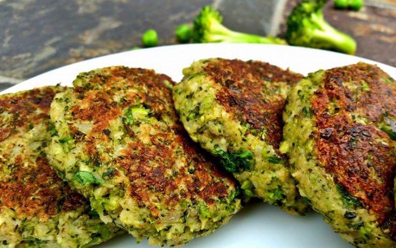 Hamburger di broccoli: opzione con meno di 100 calorie – già cambiata