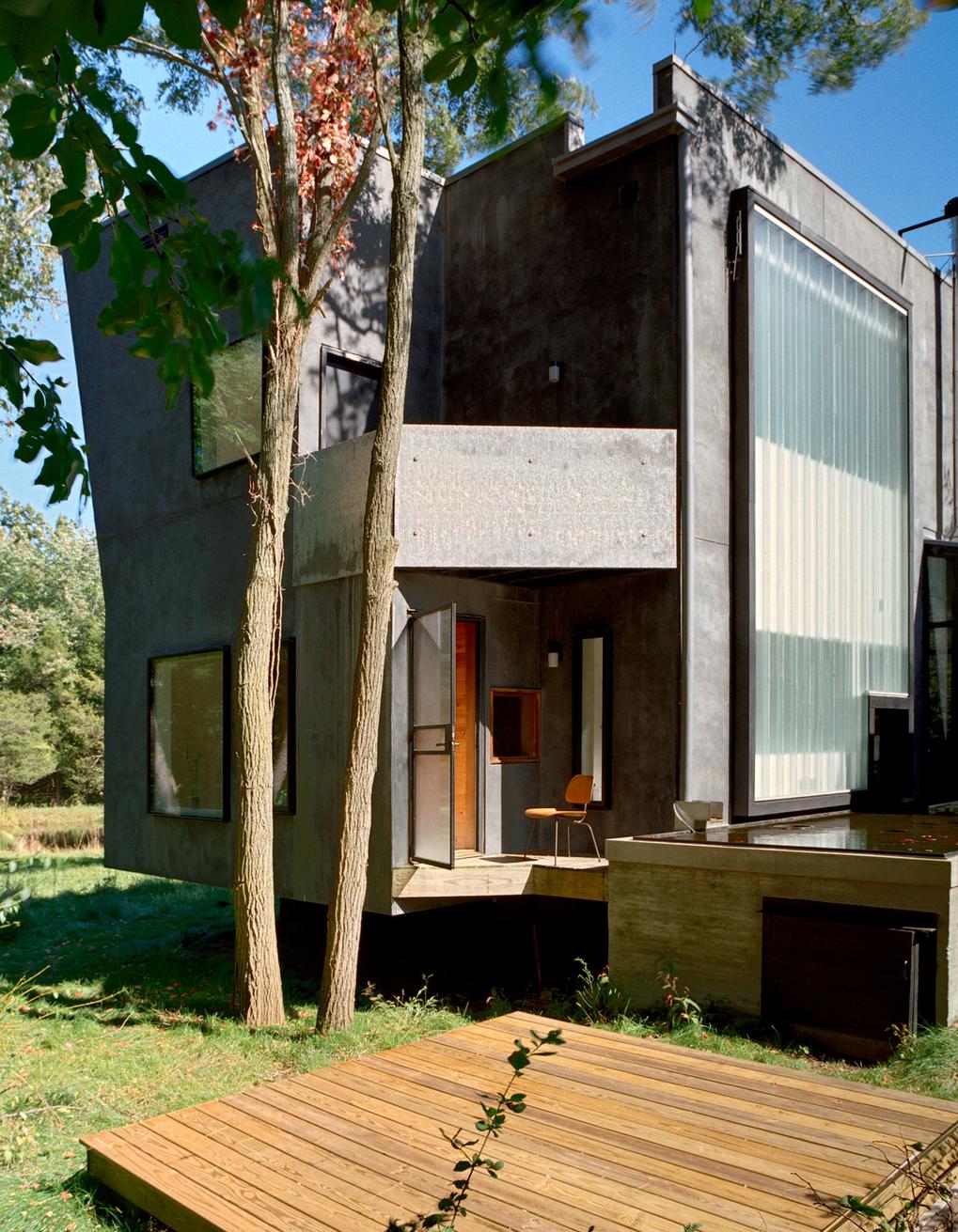 Home holl innenarchitektur tesseract house by steven holl architects photography by bilyana