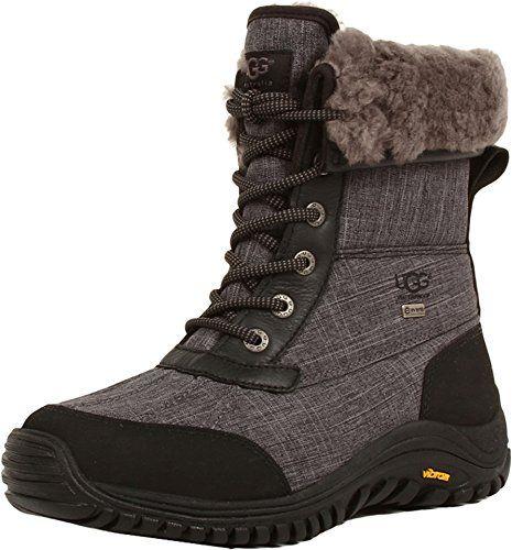 461b1e6c7ad UGG Women's Adirondack Boot II,Charcoal Textile,US 9 M | UGG Boots ...