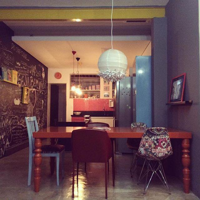 Cozinha sala de jantar da casinha...tudo junto misturado! #decor29