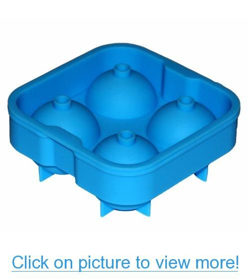 Father S Day Sale Top Quality Ice Ball Maker 4x2 Silicone Tray Makes 4 Large Ice Balls The Super Flex Silicone M Ice Ball Molding