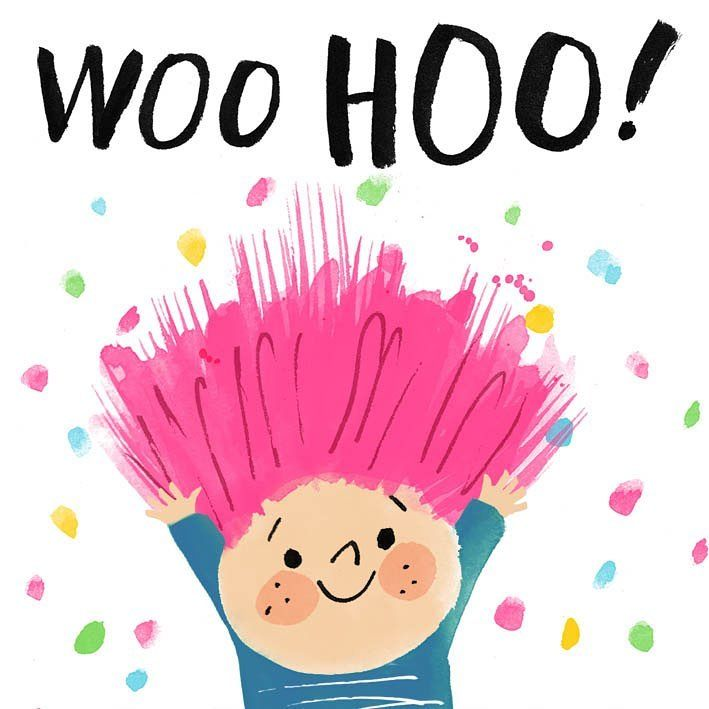 Woo Hoo Angie Rozelaar Birthday Wishes Friday Feeling Sketch Book