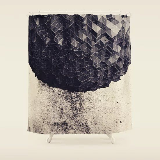 ERTH I #showercurtains by Graphmob http://bit.ly/1JetEuK #decor #art #Interiordesign