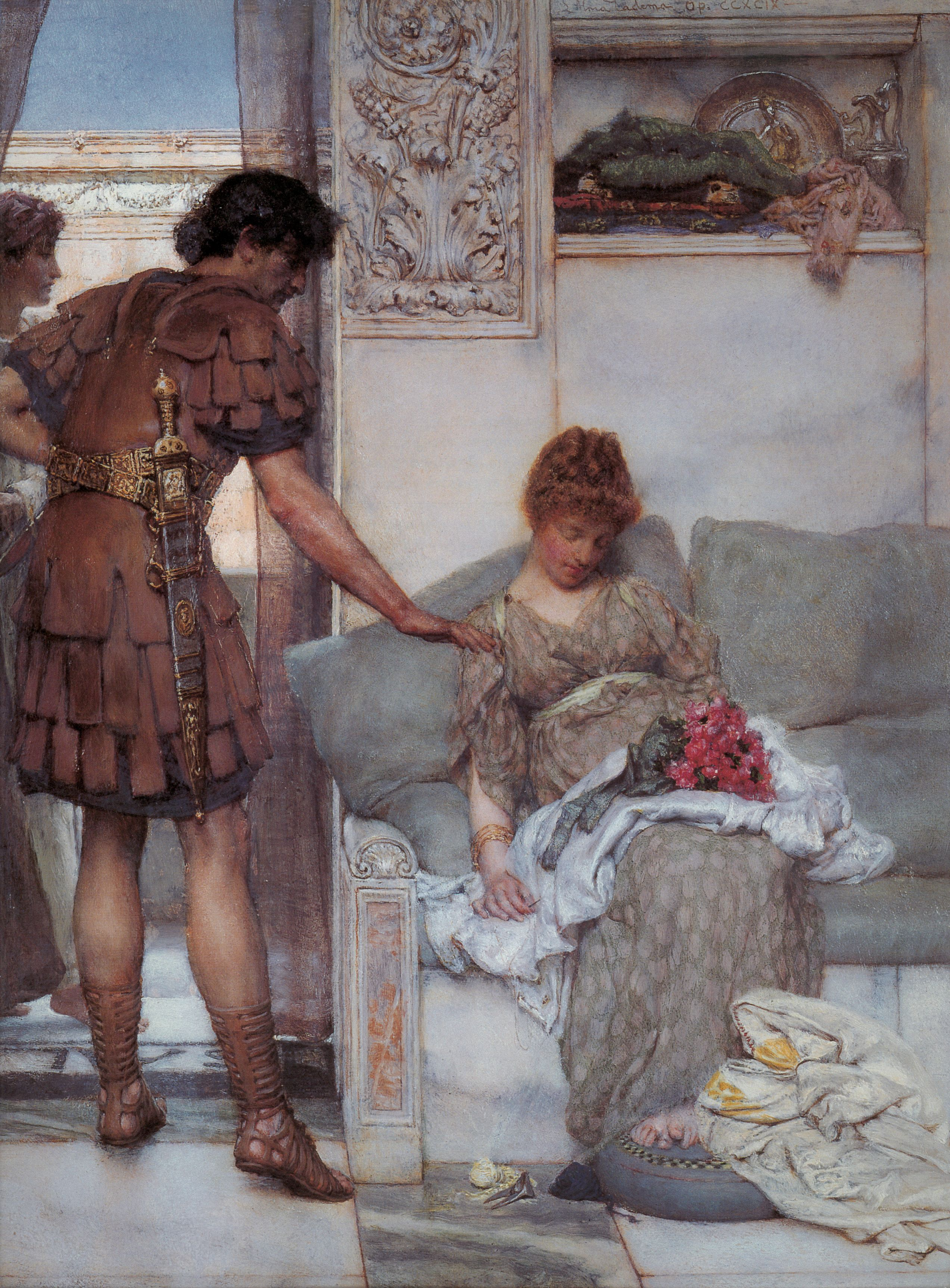 A Reading from Homer, 1885 by Sir Lawrence Alma-Tadema. Romanticism ...