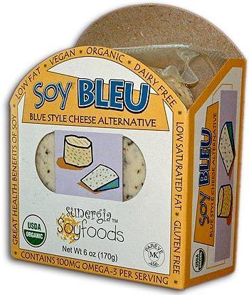 Sunergia Soy Bleu Cheese, this cheese makes a perfect Vegan Bleu Cheese Dressing.