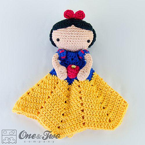 Snow White Lovey pattern