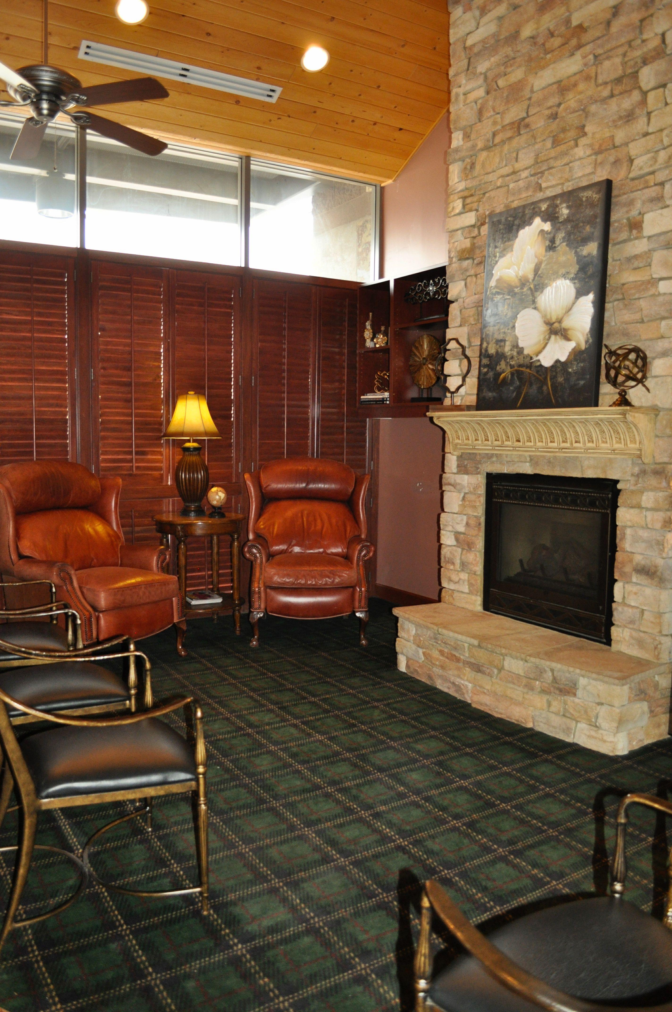 Boss Office Room Design Desk Space