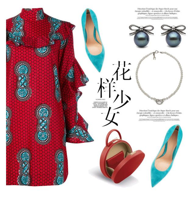 """""""Knots collection"""" by littlehjewelry ❤ liked on Polyvore featuring Stella Jean and Gianvito Rossi"""