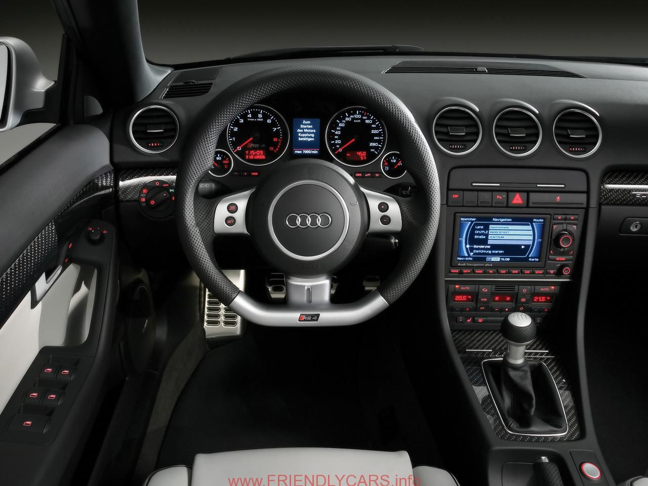 Cool Audi A4 2008 Interior Car Images Hd Audi RS4 Style