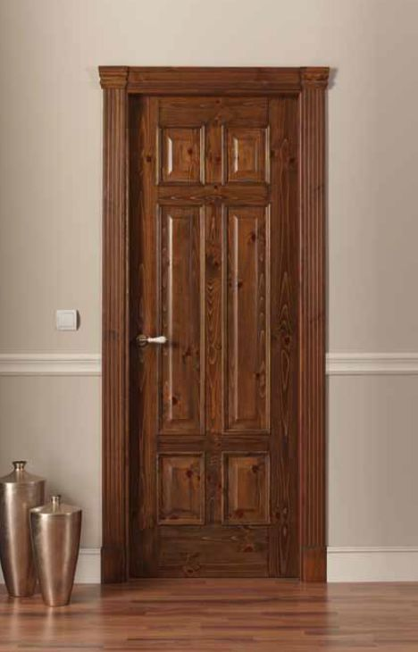Puertas Rusticas  Puertas rusticas RT496 TM Puertas de madera - puertas interiores modernas