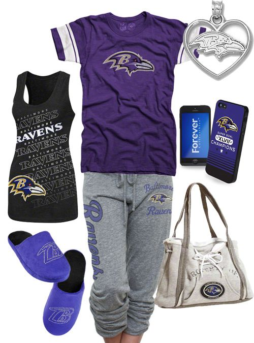 Again, not a football fan, but this is super Cute Women's Baltimore