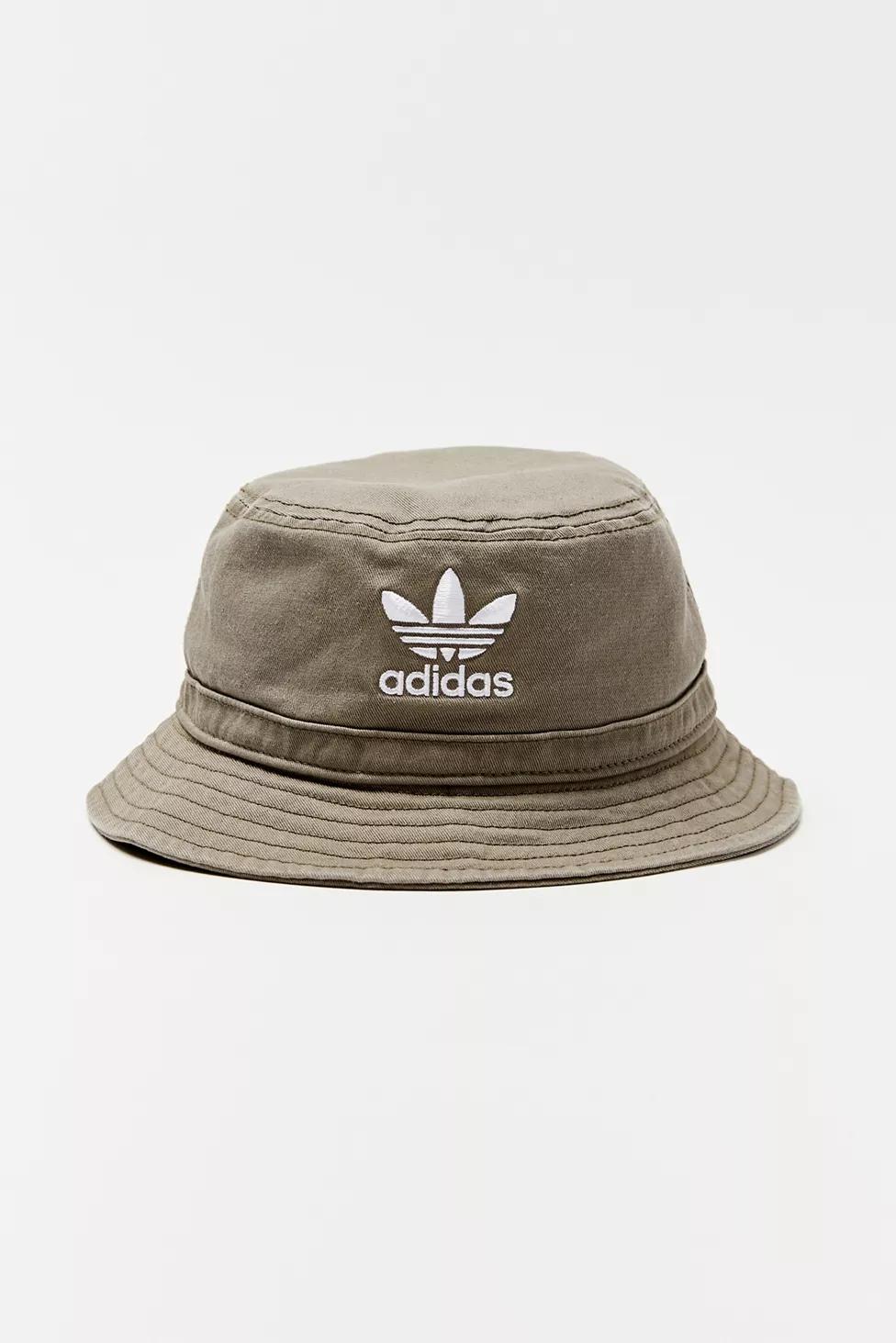 Adidas Originals Denim Bucket Hat In 2021 Adidas Bucket Hat Stussy Bucket Hat Denim Bucket Hat
