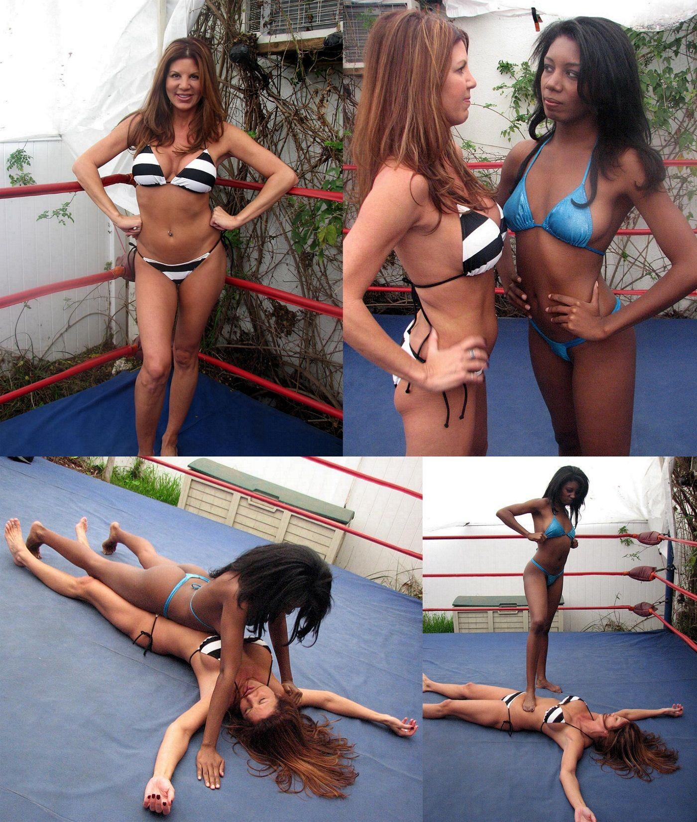 Bikini wrestling clips
