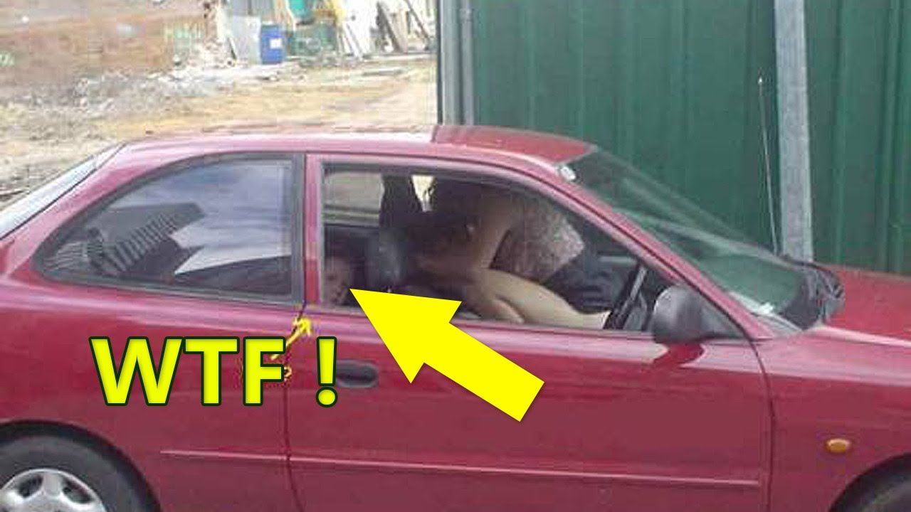 People having sex in car photo 26