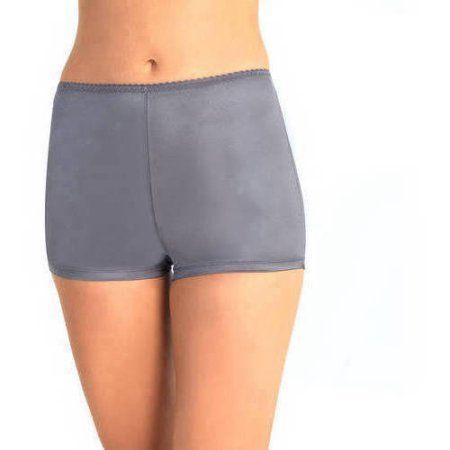 Vassarette Women's Undershapers Light Control Boyshort Panty, Style 4842001, Size: 2XL