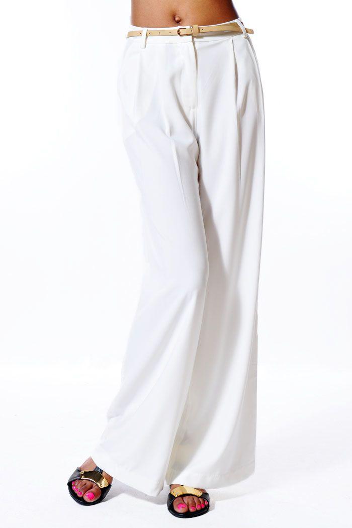 New Arrivals! #whitepants #widepants #summerpants