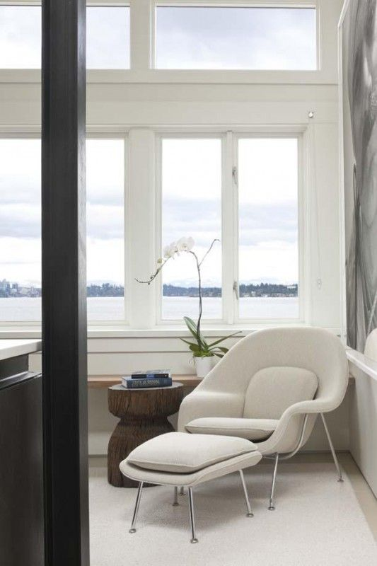 Designed By Finnish Born Architect Eero Saarinen. MOST Comfortable Chair  You Will Ever Sit In. Can Be Purchased At Design Within Reach.