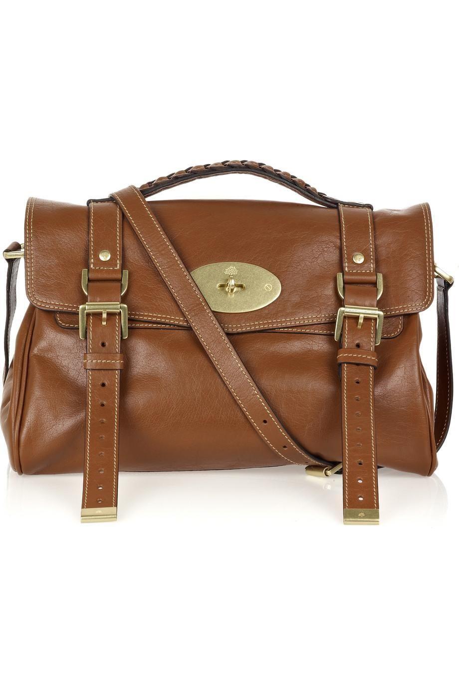 d7d04a437e02 Mulberry Alexa Leather Bag