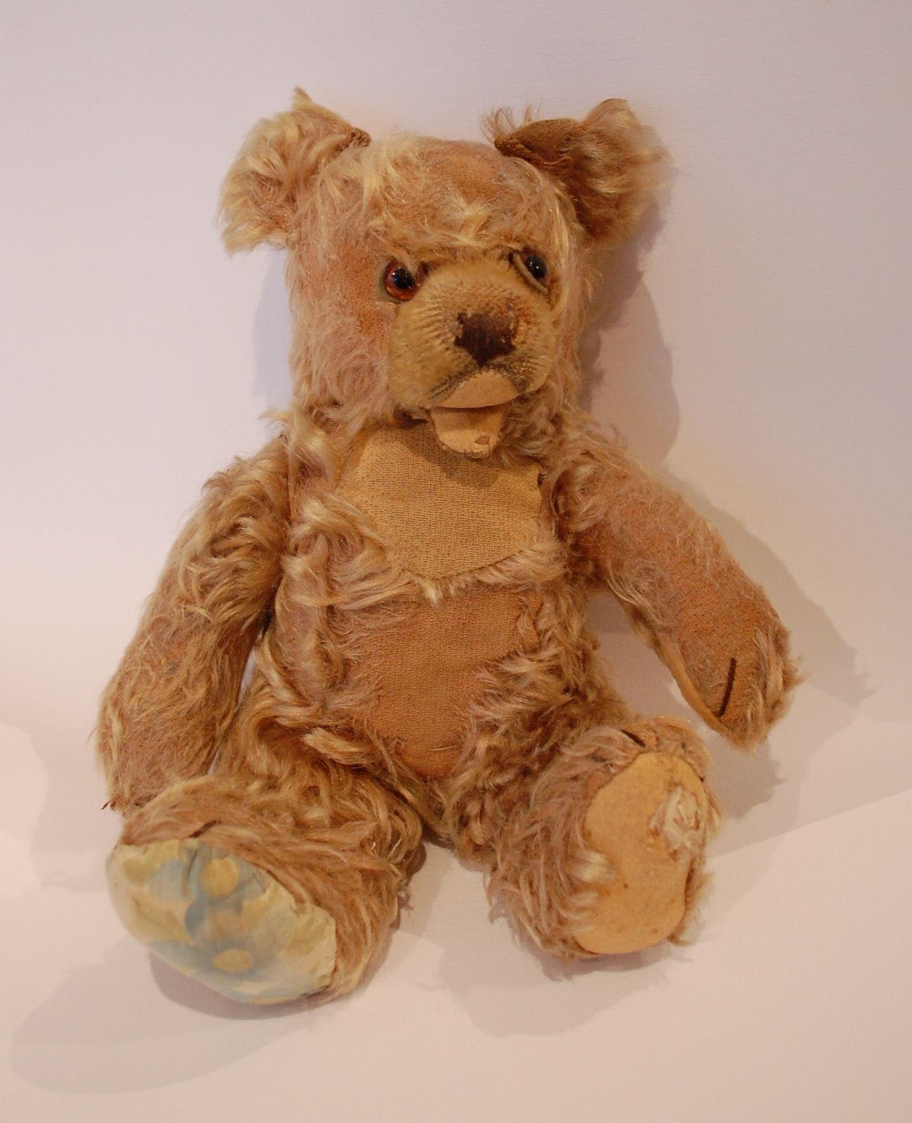 ours en peluche articul ancien steiff hermann old teddy bear ebay emotion pinterest. Black Bedroom Furniture Sets. Home Design Ideas