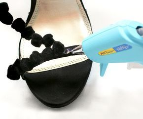 Sandalias Decora Zapatos Fiesta PomponesReciclar Tus De Con K1JclF