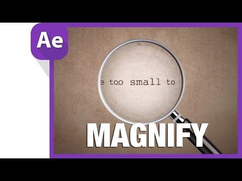 Magnify for Table Animation || After Effects Tutorial