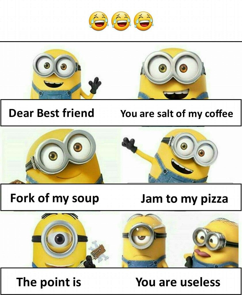 Pin By Zahraa Attar On Lol Friends Quotes Funny Minions Funny Funny Insults