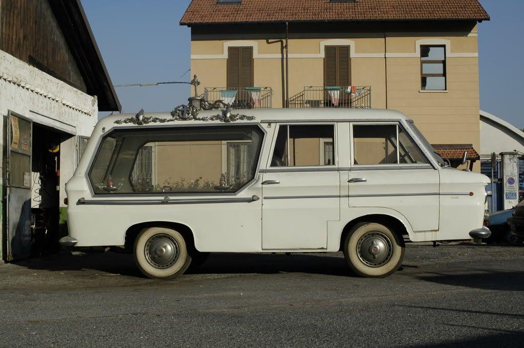 VW t1 funeraria carrello//Hearse
