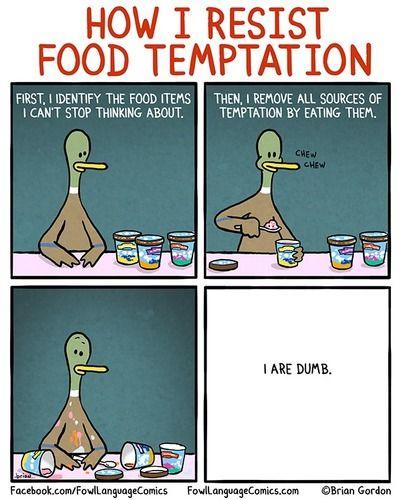 """Food Temptation 8"""" x 11"""" Print"""