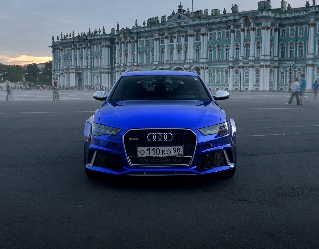 Dark Blue Chrome Audi RS6, Sexy ! | Cars | Audi rs6, Audi