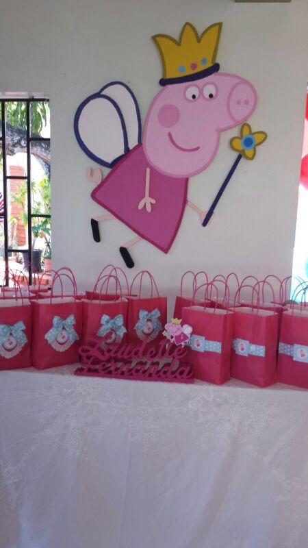 8317c0c25 Bolsas para dulces Peppa Pig Bolsas De Dulces, Bolsas De Regalo, Bolsitas,  Cumple