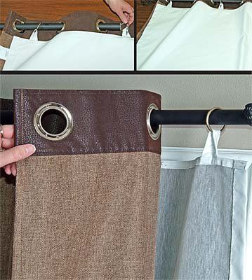 Great Diy Way To Use Blackout Insulated Fabric With Pre Made
