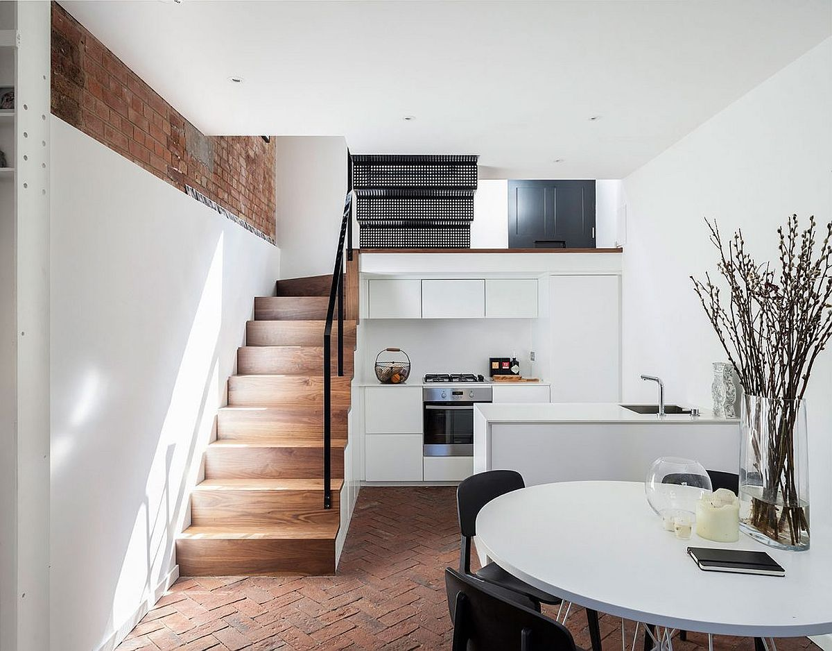 It is one thing to turn to adaptive reuse of old structures and transform an abandoned warehouse or an aged church into a beautiful modern home. But this t