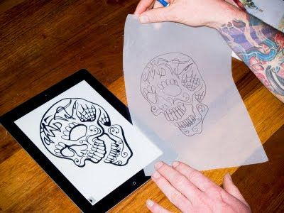 Check Out This App Tattoo Artists Rejoice Blerline Tracing Sticky Notes Make This Easy No Rolls Tattoo Transfer Paper Tattoo Stencils Tattoo Transfers