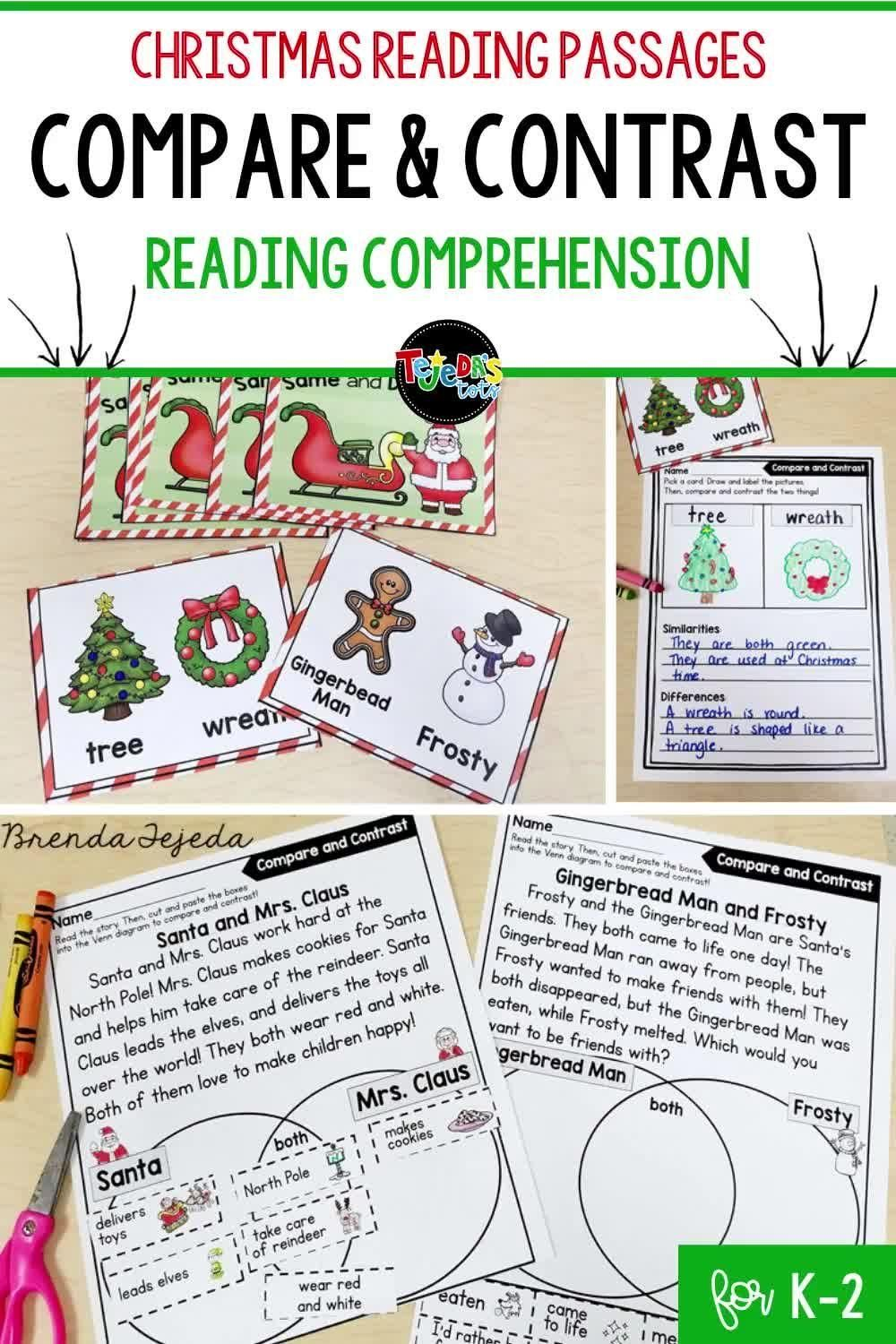Christmas Compare And Contrast Passages Printables Video Video Christmas Reading Passages Christmas Reading Comprehension Christmas Reading [ 1500 x 1000 Pixel ]