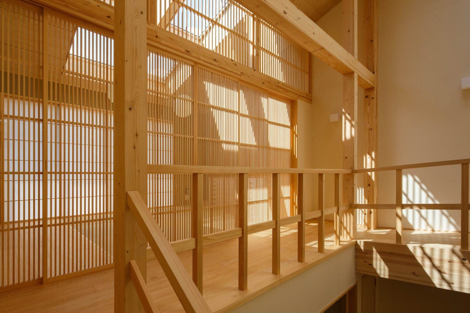 House in kyoto with a central interior garen by 07beach