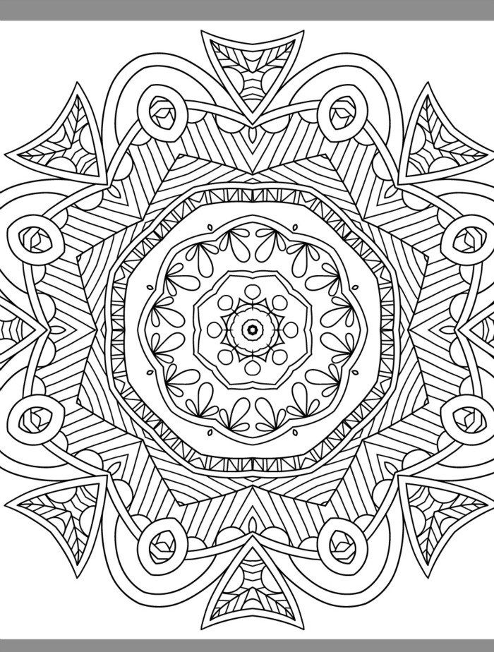 More Free Printable Adult Coloring Pages  Page  Of